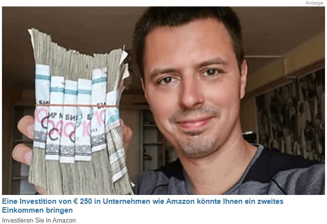 250 Euro in Amazoninvestieren