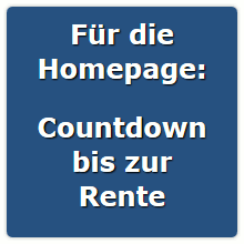 countdown rente z hler f r ihre homepage. Black Bedroom Furniture Sets. Home Design Ideas