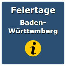 Gesetzliche Feiertage Baden WГјrttemberg