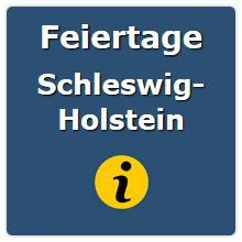 Feiertage Schleswig Holstein 2021